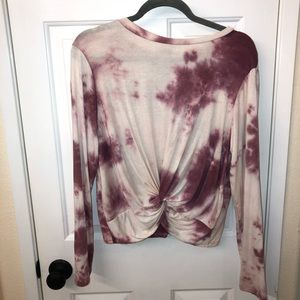 Tops - Size L super soft tie dye long sleeve top